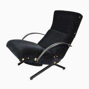 Italienischer Vintage P40 Sessel von Osvaldo Borsani für Tecno, 1950er