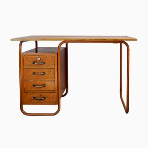 Industrial Desk with Central Locking, 1960s