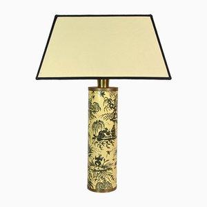 Lampe de Bureau Coromandel par Fornasetti Piero, 1950s