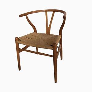 Vintage Ch24 Wishbone Stuhl von Hans Wegner für Carl Hansen