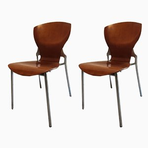 Dining Chairs by Federico Giner, 1960s, Set of 2