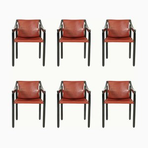 Vintage 905 Dining Chairs from Cassina, 1964, Set of 6