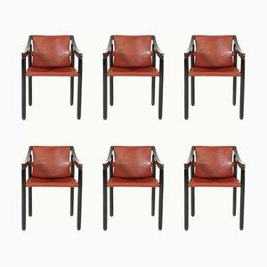 Vintage 905 Esszimmerstühle von Cassina, 1964, 6er Set