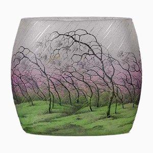 Antike Vase von Daum Frères Nancy