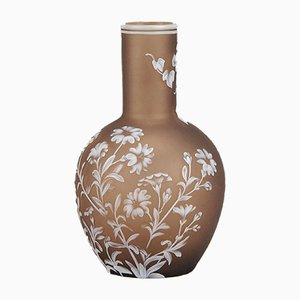 Antique Flower Vase by Thomas Webb