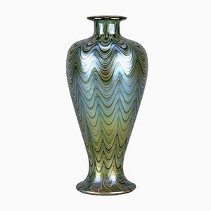 Antique Lava Phanomen Vase by Johann Loetz