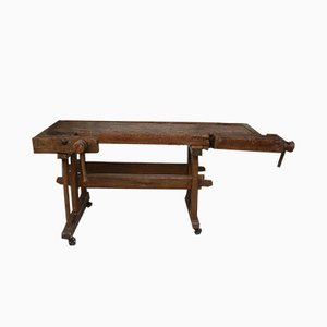Antique Carpenter's Workbench