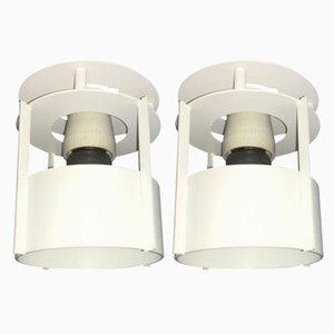 Lámparas de techo danesas vintage de Vilhelm Wohlert para Louis Poulsen. Juego de 2