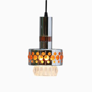 French Ceiling Lamp from Raak, 1970s