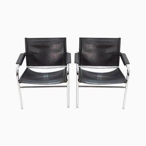Armlehnstühle im Bauhaus Stil, 1964, 2er Set