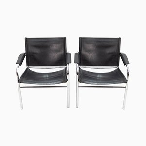 Bauhaus-Style Armchairs, 1964, Set of 2
