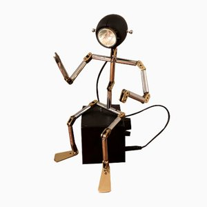 Lámpara de mesa Osqar de Ygnacio Baranga, años 80