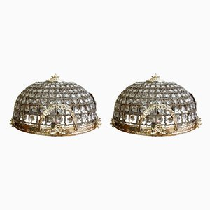 Vintage Ceiling Lamps, Set of 2