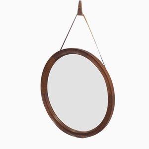 Rosewood Mirror from Pedersen & Hansen, 1950s