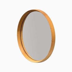 Luxus Vittsjö Oak Mirror by Uno & Östen Kristiansson
