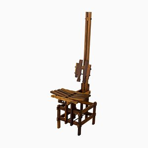 Postmoderner skulpturaler Stuhl von Anacleto Spazzapan, 1990er