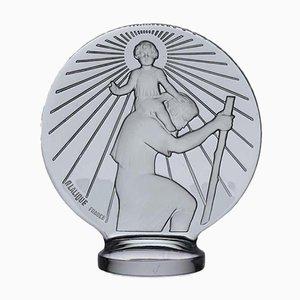 Sculpture Saint Christophe par René Lalique, années 30
