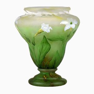 Antique Crocus Vase from Daum Nancy