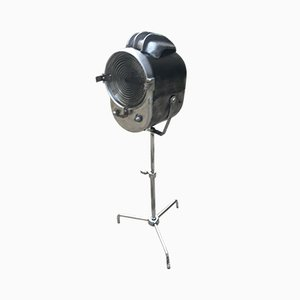 Lámpara de mesa con proyector, años 50