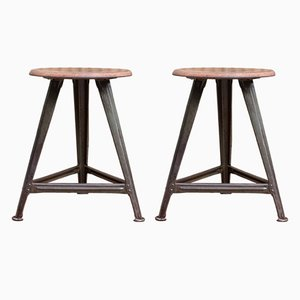Stools by Robert Wagner for Rowac, 1930s, Set of 2