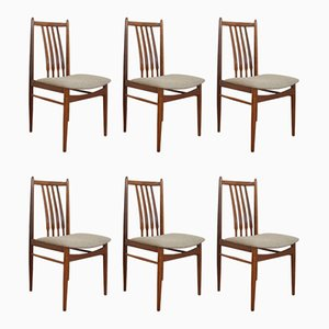Mid-Century Danish Teak Dining Chairs, 1960s, Set of 6