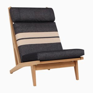 GE375 Lounge Chair by Hans J. Wegner for Getama, 1960s