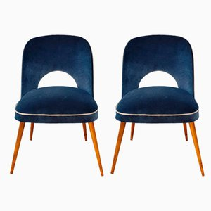 Lounge Chairs by Osvaldo Borsani for Cassina, 1950s, Set of 2