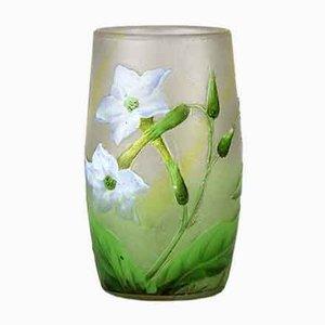 Antike Krokus Vase von Daum Nancy