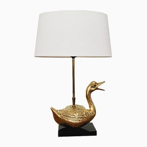 Vintage Hollywood Regency Table Lamp, 1970s