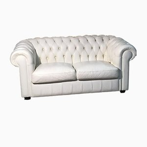 Englisches Vintage Chesterfield Sofa von Lord Phillip Stanhope, 1960er