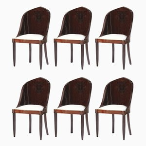Vintage Rosewood Side Chairs, Set of 6