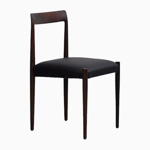 Mid-Century Rosewood Side Chair from Lübke