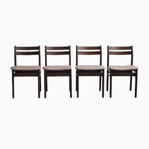 Esszimmerstühle, 1970er, 4er Set