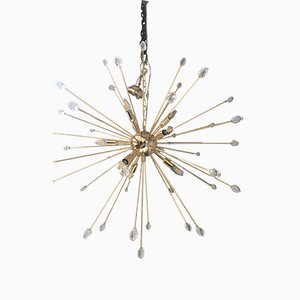Multicolored Murano Glass Sputnik Chandelier from Italian Light Design