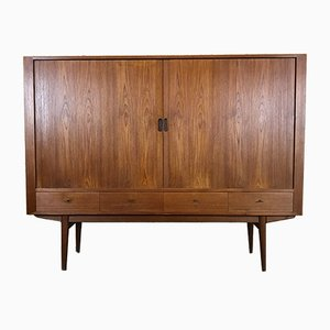 Mid-Century Teak Model 54 Sideboard by Arne Vodder for Sibast