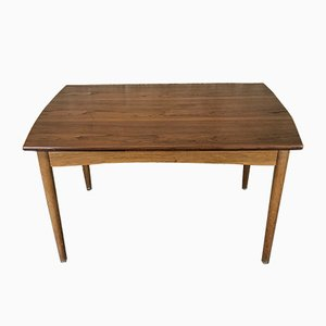 Mid-Century Danish Teak & Oak Dining Table