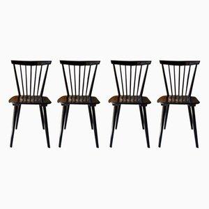 Chaises de Salon Fannett Vintage par Iilmari Tapiovaara, années 60, Set de 4