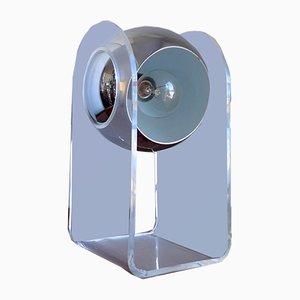 Mid-Century Space Age Tischlampe von Insta Sensorette