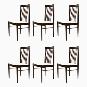 Danish Mahogany Dining Chairs by H. W. Klein for Bramin, 1970s, Set of 6