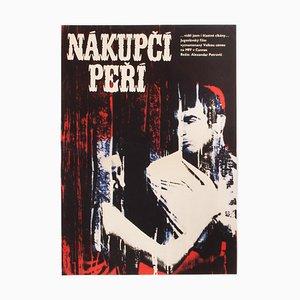 Affiche de Film I Even Met Happy Gypsies par Eva Galová-Vodrážková, 1968