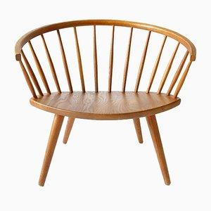 Vintage Arka Lounge Chair by Yngve Ekström for Stolab, 1960s