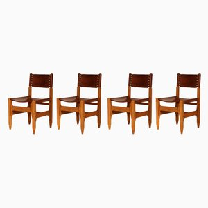 Mid-Century Brazilian Dining Chairs, Set of 4