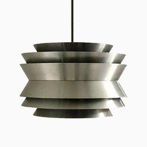 Lámpara colgante de Carl Thore / Sigurd Lindkvist para Granhaga Metallindustri, años 60