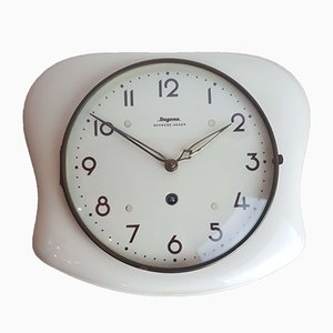 Ceramic Kitchen Wall Clock from Dugena, 1950s