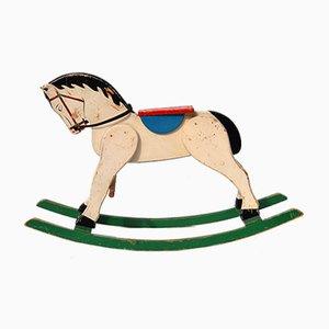 Vintage Swedish Children's Rocking Horse
