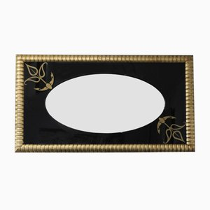 Grand Miroir Vintage Rectangulaire