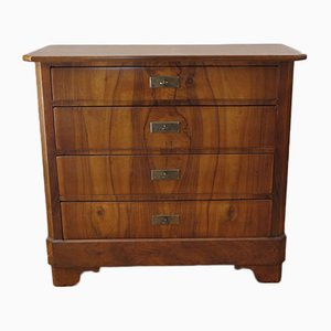 Antique Biedermeier Chest of 4 Drawers