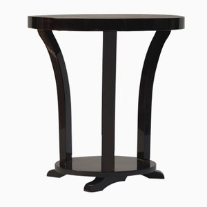 Vintage Rosewood Art Deco Pedestal Table