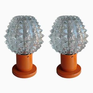 Vintage Table Lamps from Kamenický Šenov, 1960s, Set of 2