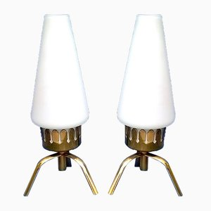 Small Table Lamps by Angelo Lelli for Arredoluce, 1950s, Set of 2